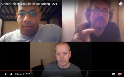 You Should Be Writing! Episode #21 | Author, Orlando Sanchez