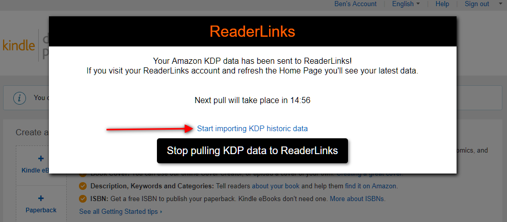 readerlinks marketing tool for authors